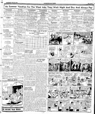 Naugatuck Daily News from Naugatuck, Connecticut on July 22, 1944 · Page 7