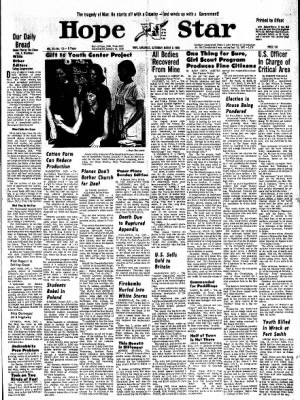 Hope Star from Hope, Arkansas on March 9, 1968 · Page 6