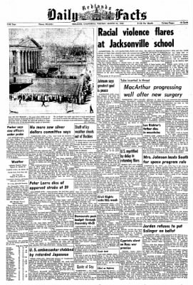 Redlands Daily Facts from Redlands, California on March 24, 1964 · Page 1