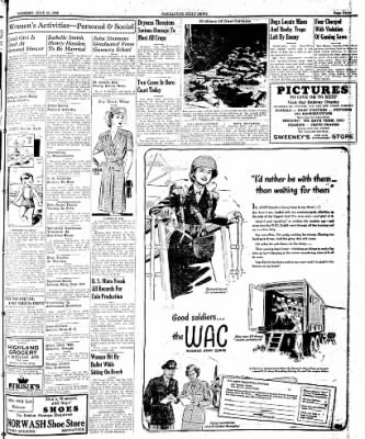 Naugatuck Daily News from Naugatuck, Connecticut on July 25, 1944 · Page 3