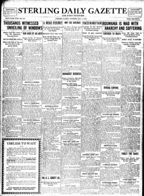 Sterling Standard from Sterling, Illinois on December 7, 1916 · Page 1