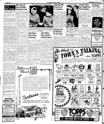 Naugatuck Daily News from Naugatuck, Connecticut on July 27, 1944 · Page 2