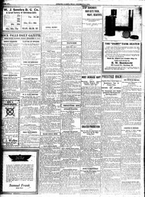 Sterling Standard from Sterling, Illinois on December 8, 1916 · Page 6
