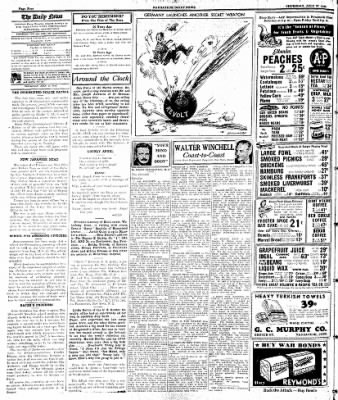 Naugatuck Daily News from Naugatuck, Connecticut on July 27, 1944 · Page 4