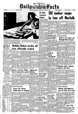 Redlands Daily Facts from Redlands, California on March 26, 1964 · Page 1