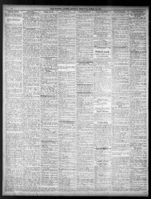 The wichita daily eagle from wichita kansas on april 13 1919 page 18 solutioingenieria Images