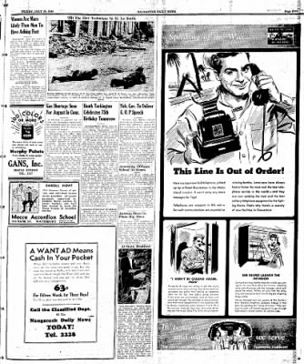 Naugatuck Daily News from Naugatuck, Connecticut on July 28, 1944 · Page 5