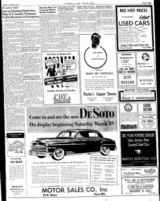 The Courier News from Blytheville, Arkansas on March 4, 1949 · Page 9