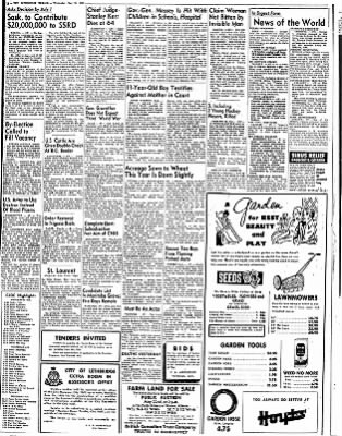 The Lethbridge Herald from Lethbridge, Alberta, Canada on May 20, 1953 · Page 2