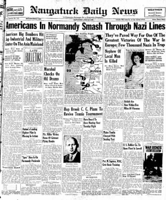Naugatuck Daily News from Naugatuck, Connecticut on July 29, 1944 · Page 1