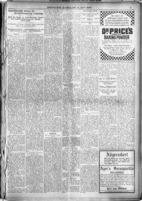Westliche Post from St. Louis, Missouri on April 18, 1908 · 5