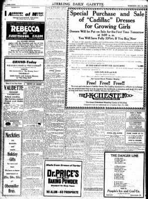 Sterling Standard from Sterling, Illinois on December 13, 1916 · Page 8