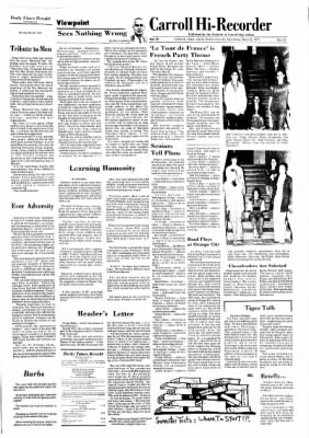 Carrol Daily Times Herald from Carroll, Iowa on May 25, 1974 · Page 3