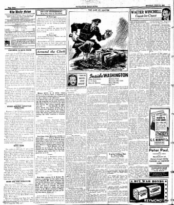 Naugatuck Daily News from Naugatuck, Connecticut on July 31, 1944 · Page 4