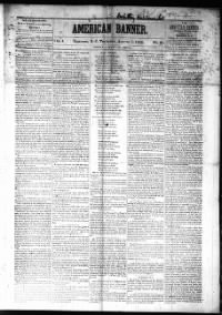 Sample American Banner front page
