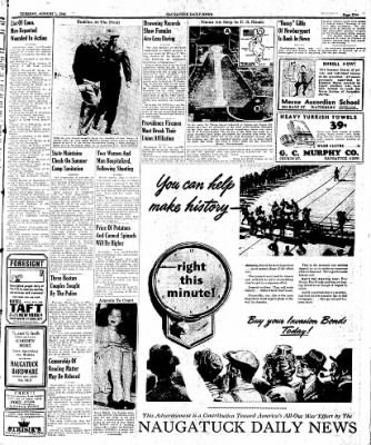 Naugatuck Daily News from Naugatuck, Connecticut on August 1, 1944 · Page 5