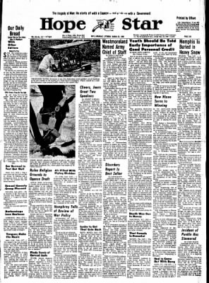 Hope Star from Hope, Arkansas on March 23, 1968 · Page 6