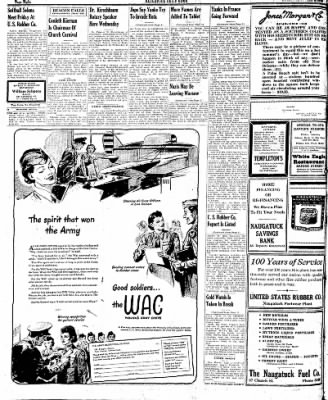 Naugatuck Daily News from Naugatuck, Connecticut on August 1, 1944 · Page 8