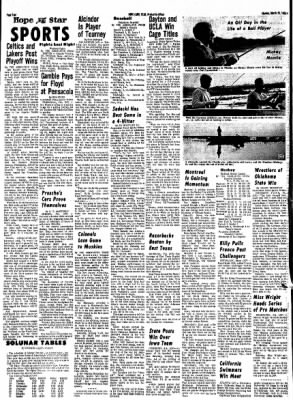 Hope Star from Hope, Arkansas on March 25, 1968 · Page 3