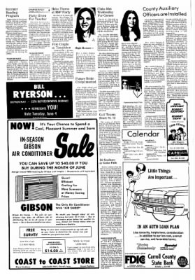 Carrol Daily Times Herald from Carroll, Iowa on May 30, 1974 · Page 4
