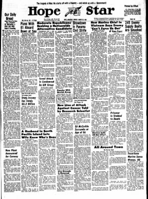 Hope Star from Hope, Arkansas on March 25, 1968 · Page 6