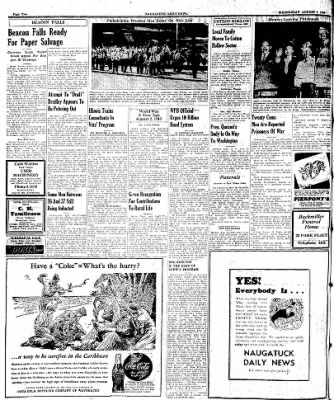 Naugatuck Daily News from Naugatuck, Connecticut on August 2, 1944 · Page 2