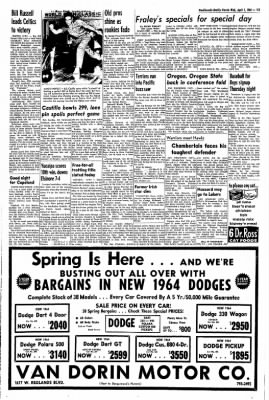 Redlands Daily Facts from Redlands, California on April 1, 1964 · Page 13