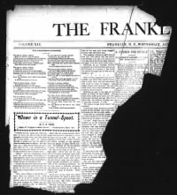 Sample The Franklin Press front page