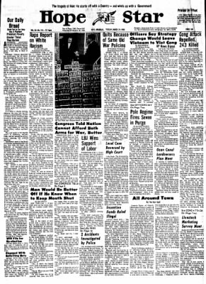 Hope Star from Hope, Arkansas on March 26, 1968 · Page 10