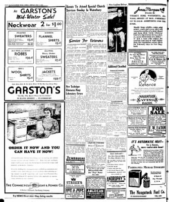 Naugatuck Daily News from Naugatuck, Connecticut on February 7, 1947 · Page 12