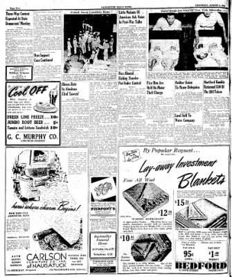 Naugatuck Daily News from Naugatuck, Connecticut on August 3, 1944 · Page 2