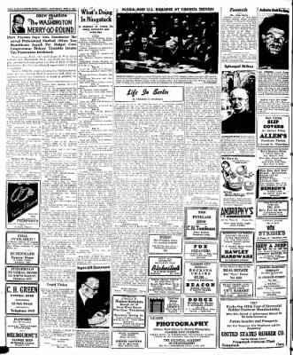 Naugatuck Daily News from Naugatuck, Connecticut on February 8, 1947 · Page 2