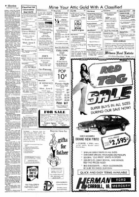 Carrol Daily Times Herald from Carroll, Iowa on June 3, 1974 · Page 9