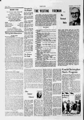 Needles Desert Star from Needles, California on July 27, 1972 · 2