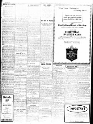 Sterling Standard from Sterling, Illinois on December 27, 1916 · Page 4