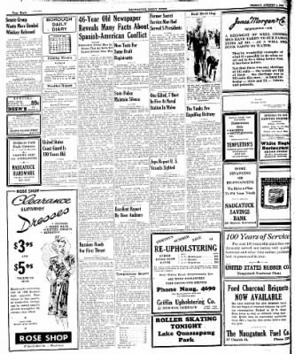 Naugatuck Daily News from Naugatuck, Connecticut on August 4, 1944 · Page 8
