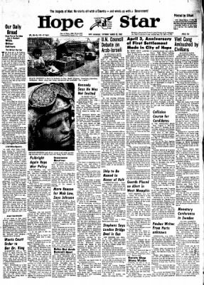 Hope Star from Hope, Arkansas on March 30, 1968 · Page 6