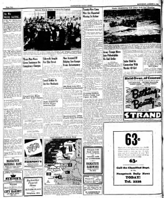 Naugatuck Daily News from Naugatuck, Connecticut on August 5, 1944 · Page 2