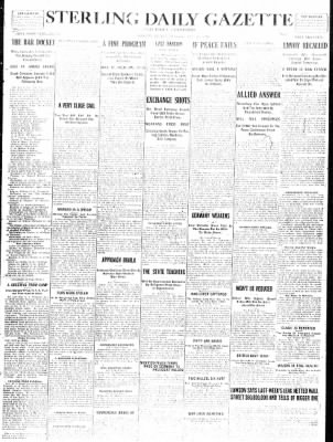 Sterling Standard from Sterling, Illinois on December 28, 1916 · Page 1