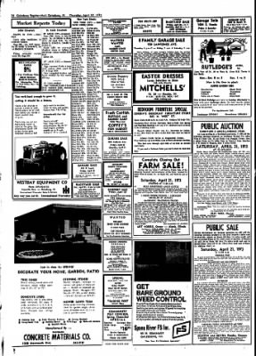 Galesburg Register-Mail from Galesburg, Illinois on April 19, 1973 · Page 26