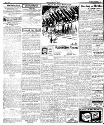 Naugatuck Daily News from Naugatuck, Connecticut on August 7, 1944 · Page 4