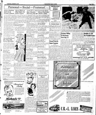 Naugatuck Daily News from Naugatuck, Connecticut on August 8, 1944 · Page 3