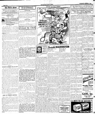 Naugatuck Daily News from Naugatuck, Connecticut on August 8, 1944 · Page 4