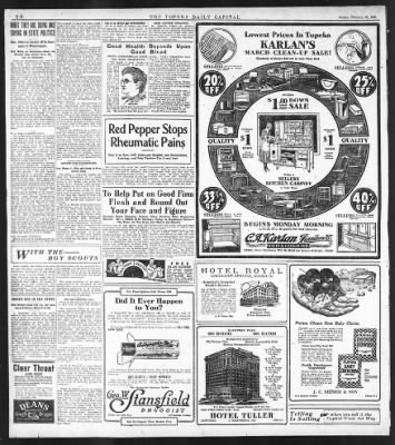 The Topeka Daily Capital from Topeka, Kansas on February 26, 1922 · Page 17