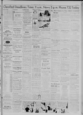 The Cumberland News from Cumberland, Maryland on July 30