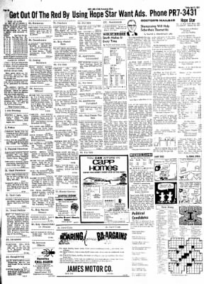 Hope Star from Hope, Arkansas on April 5, 1968 · Page 5