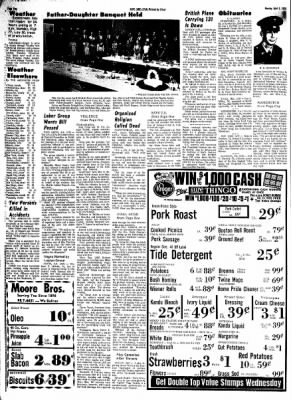 Hope Star from Hope, Arkansas on April 8, 1968 · Page 1