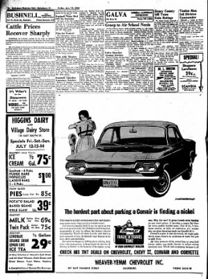 Galesburg Register-Mail from Galesburg, Illinois on July 12, 1963 · Page 24