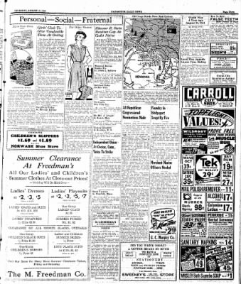 Naugatuck Daily News from Naugatuck, Connecticut on August 10, 1944 · Page 3