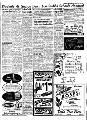 Lubbock Evening Journal From Lubbock Texas On May 27 1954 Page 5